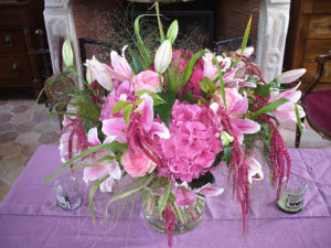 Bouquet de fleurs réalisé par Cédric Deshayes, de la Maison Art et Végétal