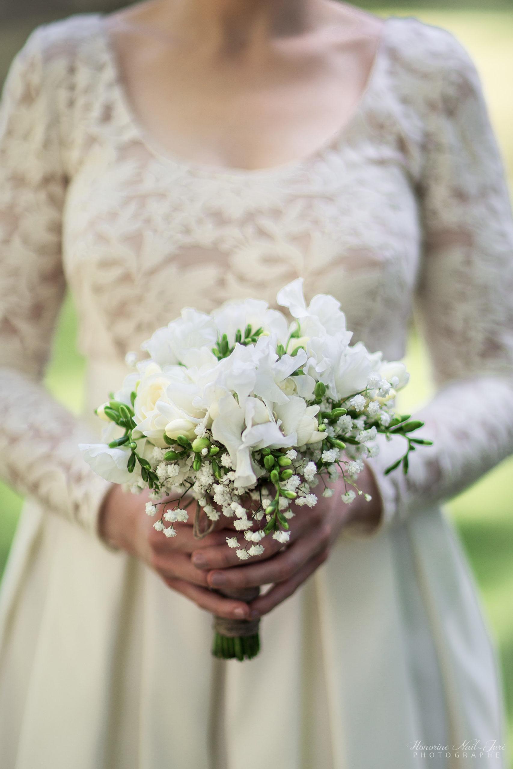 De belles fleurs de mariage