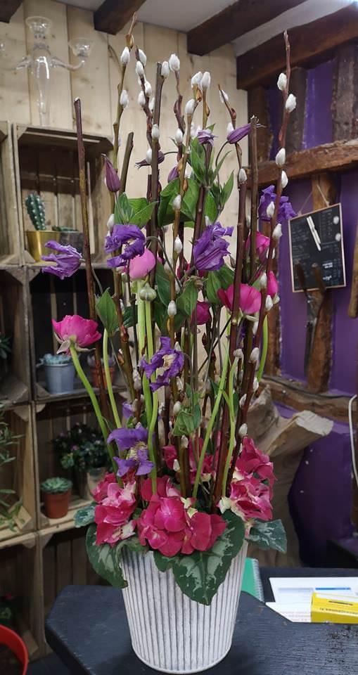 Des cours d'art floral avec Art & Végétal pour partager la passion des fleurs