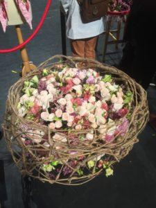 Le bouquet, une création de Cédric Deshayes vice-champion de France fleuriste 2019