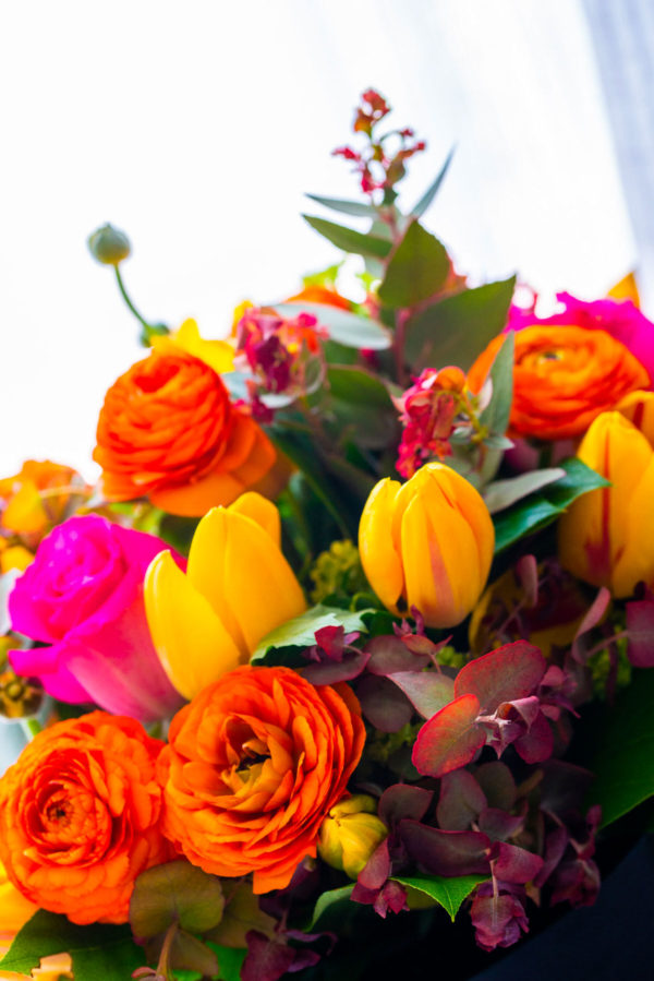 Bouquet Tons Colorés