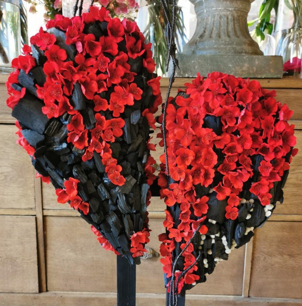 des fleurs de saint valentin